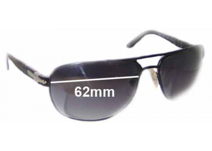 SFX Replacement Sunglass Lenses fits Persol 2138S 59mm Wide