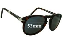 Persol Steve McQueen Replacement Sunglass Lenses - 53mm wide