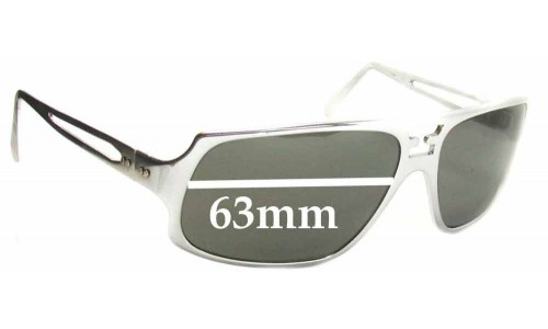 Polaroid 6402 Replacement Sunglass Lenses - 63mm wide