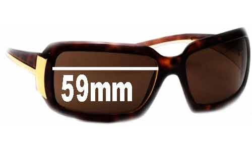Prada PR 01HS New Sunglass Lenses - 59mm Wide