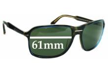 Prada SPR02N Replacement Sunglass Lenses - 61mm wide lens