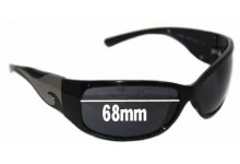 Prada SPR03G Replacement Sunglass Lenses 68mm Wide lens (NOT SPR03G 2AU2Z1 or 1AB1A1)