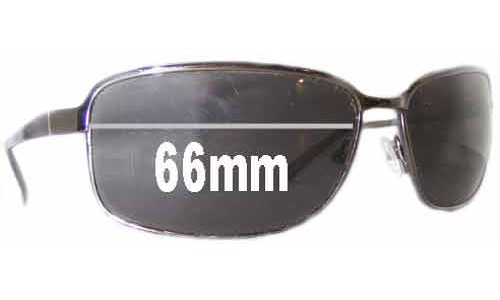 Prada SPR52E Replacement Sunglass Lenses - 66mm wide