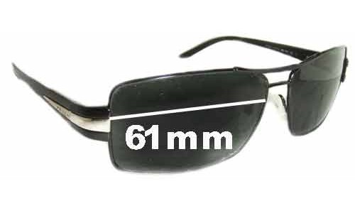 Prada SPR65H Replacement Sunglass Lenses - 61mm lens