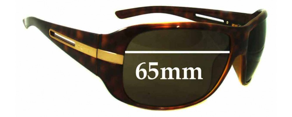 Prada Unknown model Replacement Sunglass Lenses - 65mm wide - 48mm tall