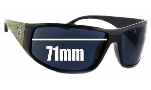 Quiksilver AKKA DAKKA Replacement Sunglass Lenses - 71mm Wide