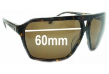 Quiksilver J&D Replacement Sunglass Lenses - 60mm Wide
