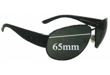 Ralph Lauren Polo 3052 Replacement Sunglass Lenses - 65mm wide