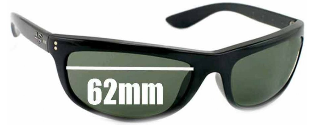ray ban sunglasses glass replacement  ray ban rb4089 baloramas replacement sunglass lenses 62mm wide