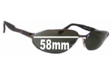 addefac41a Sunglass Fix New Replacement Lenses for Ray Ban Predator RB3252 New Sunglass  Lenses- 58mm wide