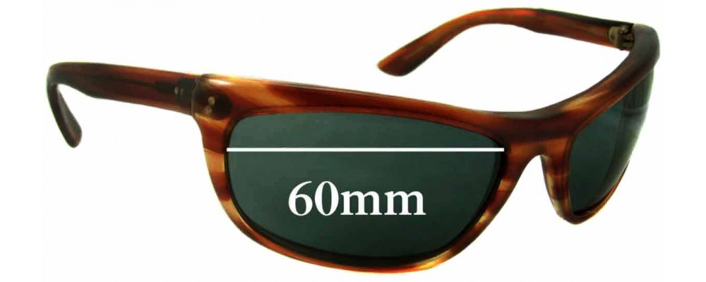 Sunglass Fix Replacement Lenses for Ray Ban Baloramas Bausch Lomb -  60mm Wide