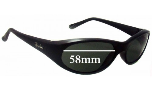 Ray Ban Daddy-O RB2015 Replacement Sunglass Lenses - 58mm wide