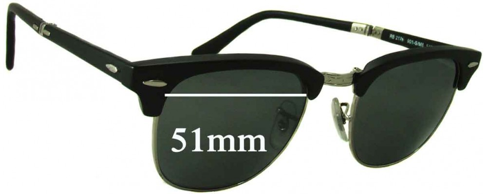 Ray Ban Folding Sunglasses  ban folding wayfarer rb2176 replacement sunglass lenses 51mm wide