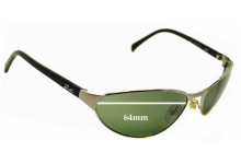 Ray Ban Rb3102 Predator Replacement Sunglass Lenses - 64mm Wide