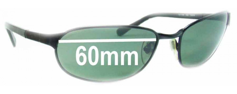 Ray Ban RB3146 Sport Metal Square Replacement Sunglass Lenses - 60mm Wide
