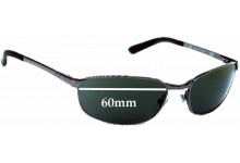 Ray Ban RB3175 Replacement Sunglass Lenses - 60mm Wide Lens