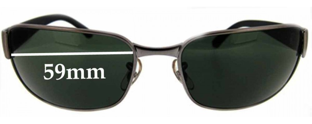 ray ban replacement lenses 3sps  Ray Ban UNDERCURRENT RB3215 Replacement Sunglass Lenses