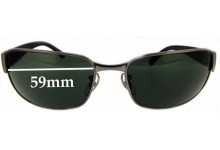 Ray Ban UNDERCURRENT RB3215 Replacement Sunglass Lenses - 59 mm wide