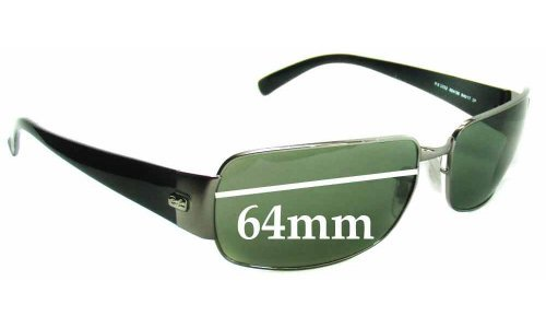 Ray Ban RB3332 Replacement Sunglass Lenses - 64mm wide