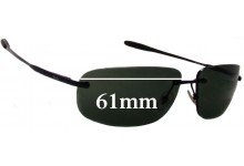 Ray Ban RB3391 Replacement Sunglass Lenses - 61mm Wide