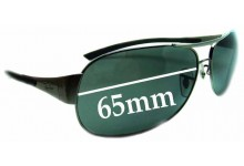 Ray Ban RB3404 Replacement Sunglass Lenses - 65mm wide