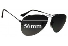 Ray Ban RB3460 Replacement Sunglass Lenses - 56mm Wide