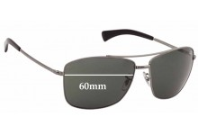 Ray Ban RB3476 Replacement Sunglass Lenses - 60mm across