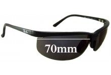 Ray Ban RB4021 Replacement Sunglass Lenses - 70mm across
