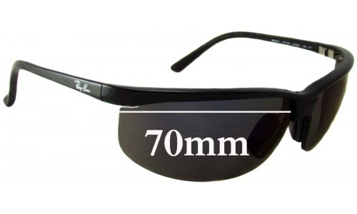 Sunglass Fix Replacement Lenses for Ray Ban RB4021 - 70mm across