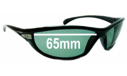Ray Ban PS Hunter RB4038 Replacement Sunglass Lenses - 65mm Wide
