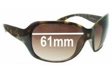 Ray Ban RB4118 Replacement Sunglass Lenses - 61mm Wide