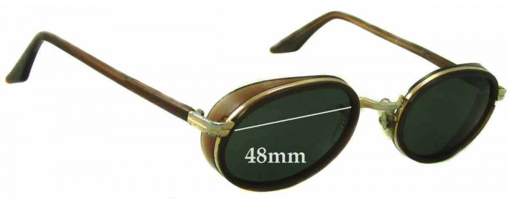 Ray Ban W2814 Replacement Sunglass Lenses - 48mm Wide