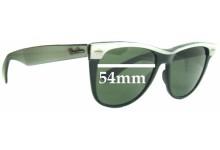37f8b155dbe Ray Ban Wayfarer II Bausch and Lomb Replacement Sunglass Lenses - 54mm