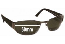 a9fbaff667 Sunglass Fix Replacement Lenses for Ray Ban Undercurrent RB3141 Leather II  - 60MM wide