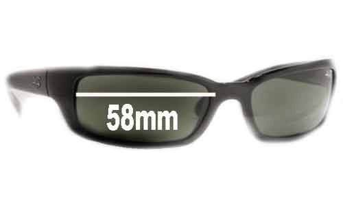 Ray Ban RB4037 Shot Extreme Replacement Sunglass Lenses - 58mm wide