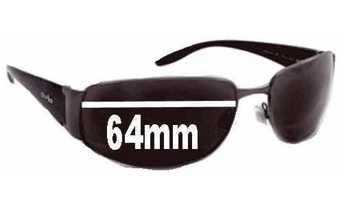 Revo 3065 Replacement Sunglass Lenses - 64MM WIDE 40 HIGH