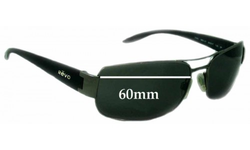 Revo 3082 Replacement Sunglass Lenses - 60mm wide
