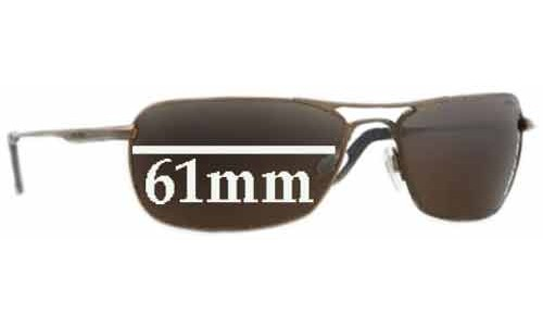 Revo 3083 Undercut Replacement Sunglass Lenses - 61mm wide