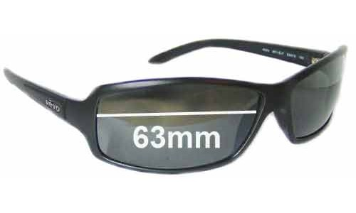 Revo 4024 Replacement Sunglass Lenses - 63mm Wide Lenses