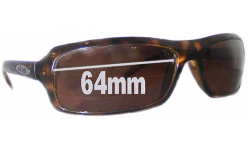 Revo 4031 Replacement Sunglass Lenses - 64mm wide