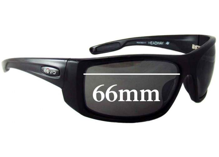 SFX Replacement Sunglass Lenses fits Revo RE4064 Converge 61mm Wide