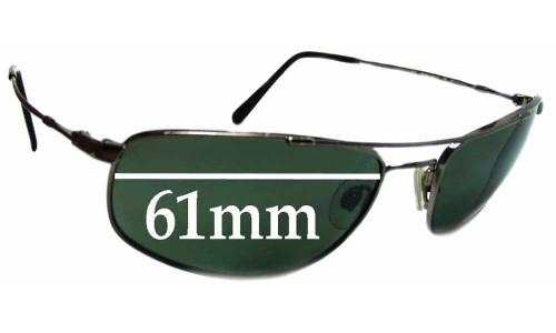 Revo 9001 Replacement Sunglass Lenses - 61mm Wide Lenses