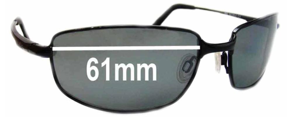 Revo Sunglasses Repair  re8000 discern anium replacement sunglass lenses 61mm wide lenses