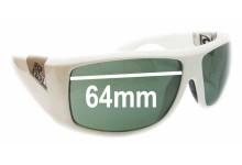 Rip Curl Phantoms Replacement Sunglass Lenses - 64mm wide