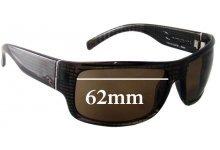 Rip Curl Raglan Replacement Sunglass Lenses - 62mm wide