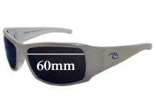 Rip Curl Snappers Replacement Sunglass Lenses - 60mm wide