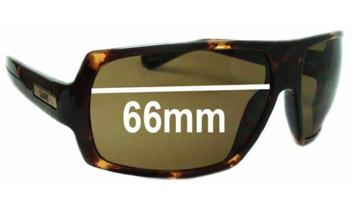 Sabre Delirium Replacement Sunglass Lenses - 66mm wide