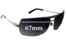 Salvatore Ferragamo 1134 Replacement Sunglass Lenses - 67mm Lenses