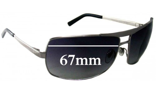 Salvatore Ferragamo 1134 Replacement Sunglass Lenses - 67mm Lenses