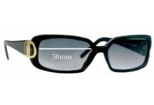Salvatore Ferragamo 2065 New Sunglass Lenses - 58mm Lenses